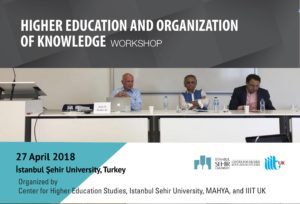 Higher Education and Organisation of Knowledge Workshop