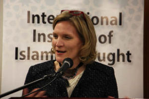 Dr. Cynthia Miller-Idriss Speaks at the IIIT Iftar