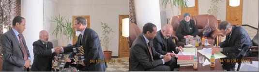توقيع اتفاقية تعاون بين المعهد العالمي للفكر الإسلامي وجامعة معسكر في الجزائر