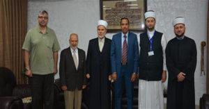 وفد من المعهد العالمي للفكر الإسلامي يزور الإفتاء