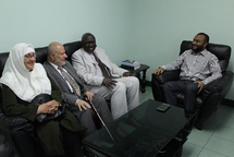 Prof. Kasule and Prof. Malkawi Visit University of Maldives