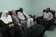 Prof. Kasule and Prof. Malkawi Visit University of Maldives
