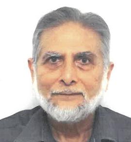 Professor Emeritus Abul Fadl Mohsin Ebrahim