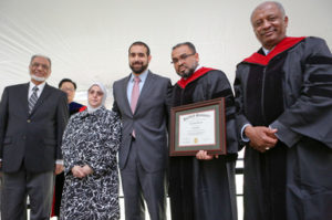 Hartford Seminary Posthumous Honorary Doctor of Divinity Granted to Dr. Barzinji