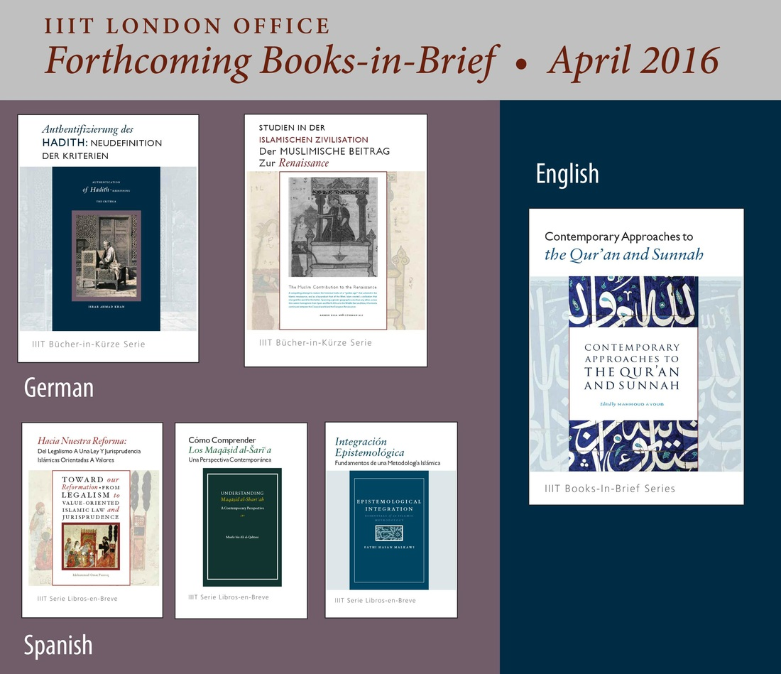 English, German, and Spanish Books-in-Brief(Forthcoming - April 2016)