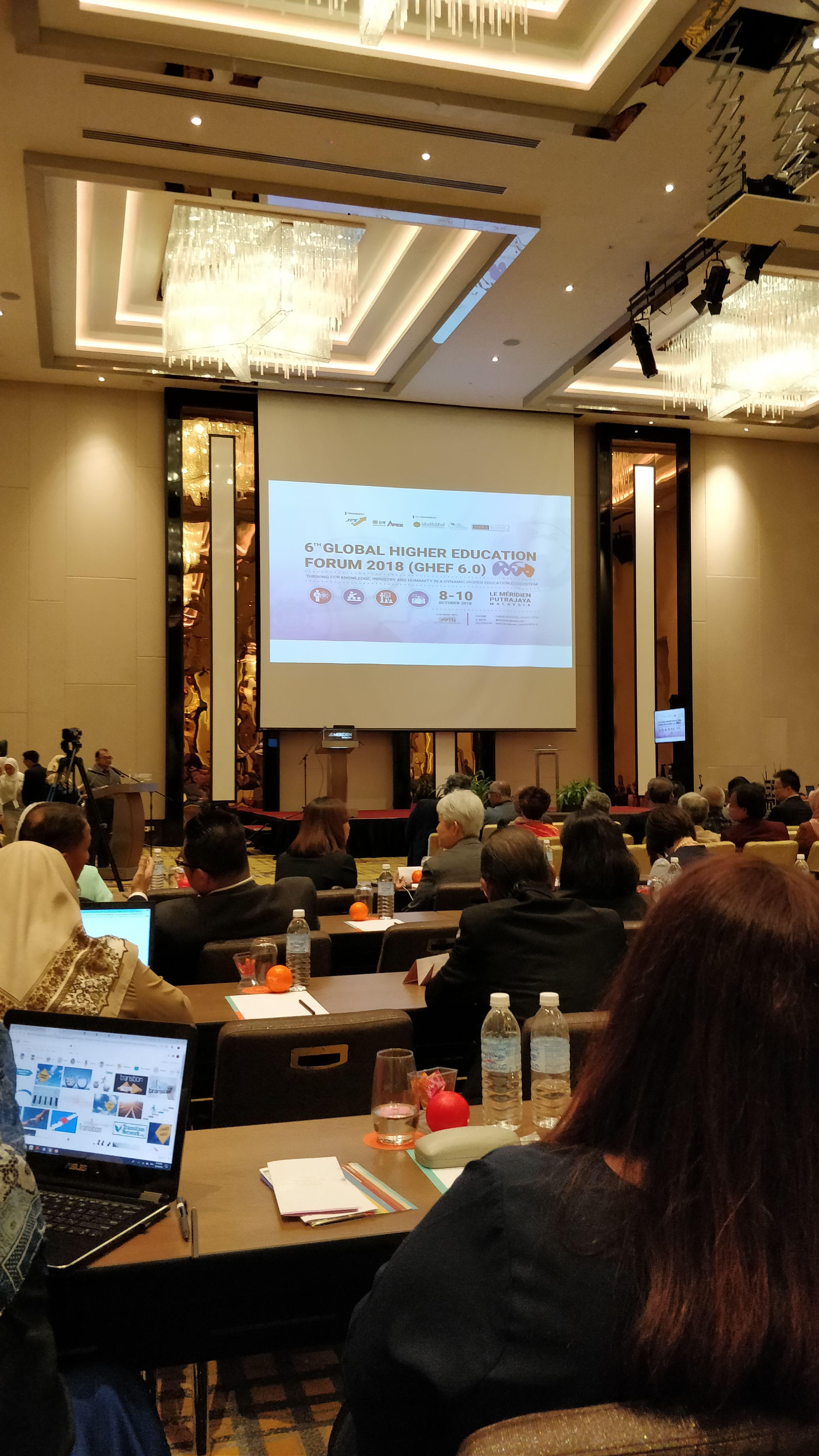 6th Global Higher Education Forum (GHEF 6.0)