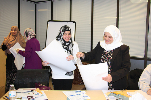 First of three training workshops for the Teacher Training Enrichment Program