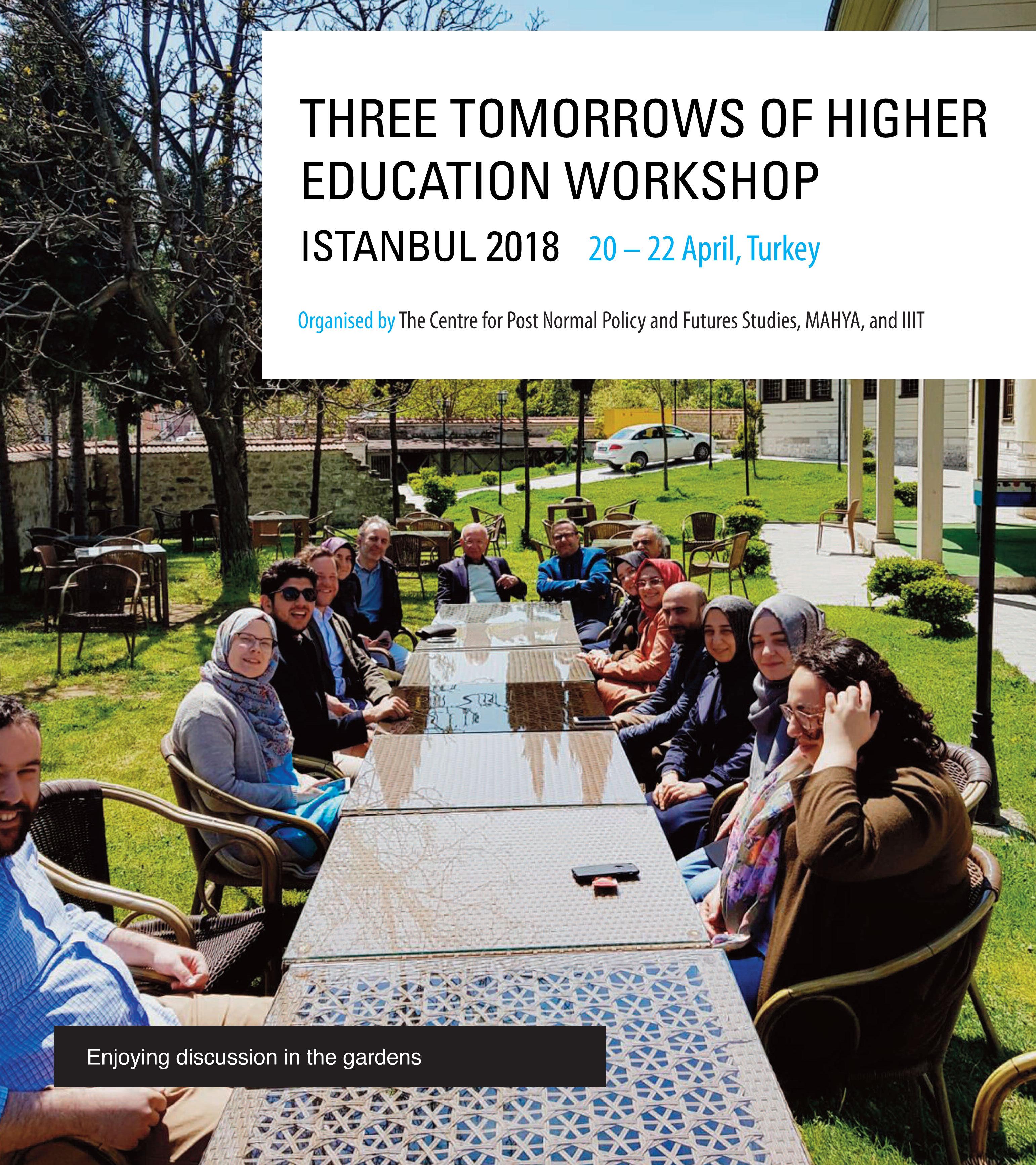 Three Tomorrows of Higher Education Workshop in Turkey