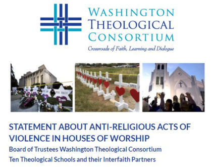 STATEMENT ABOUT ANTI-RELIGIOUS ACTS OF VIOLENCE IN HOUSES OF WORSHIP