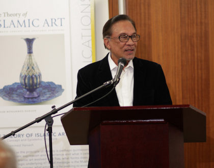 IIIT Lecture on Conscientious Governance with Chairman Dato Seri Anwar Ibrahim