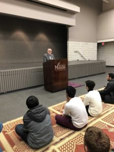 Friday Sermon at George Mason University