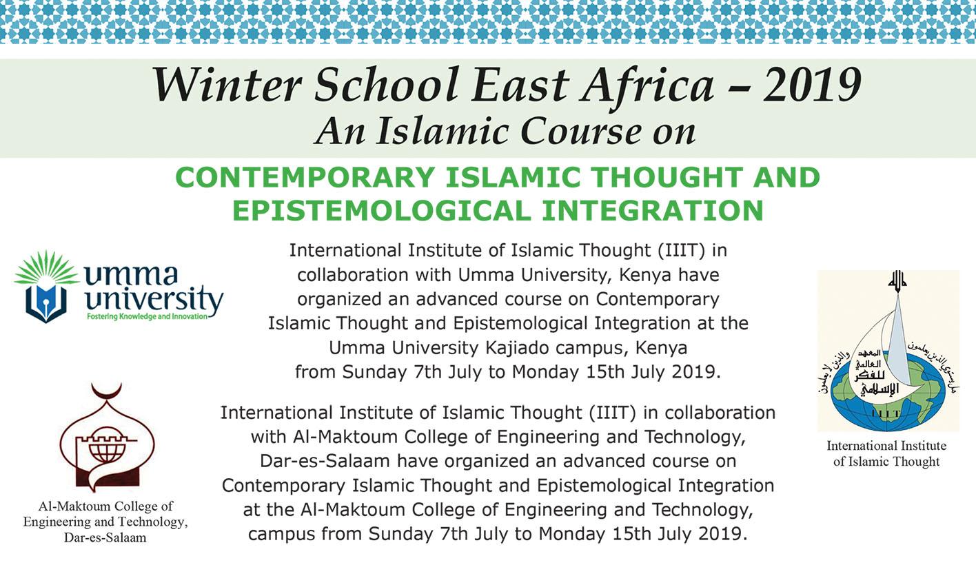 Winter School East Africa 2019