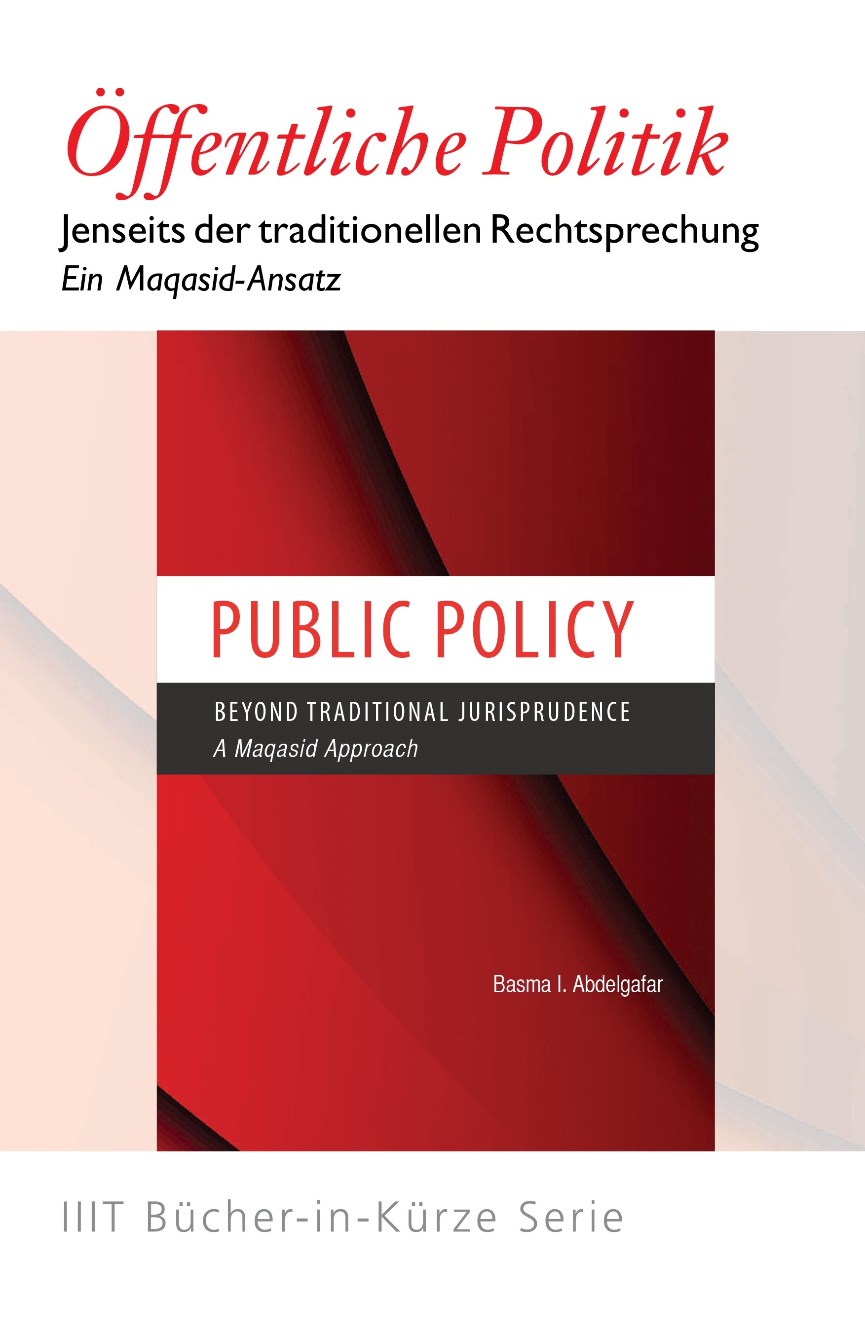 Public Policy Beyond Traditional Jurisprudence – German (Books-in-Brief)