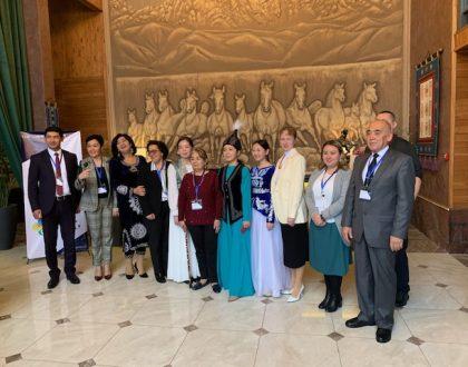 د. إلهام ناصر تتحدث في قيرغيزستان حول التعلم الاجتماعي والعاطفي