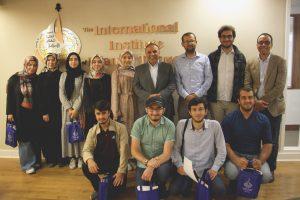 طلبة من جامعة إسطنبول شهير يزورون المعهد بأمريكا