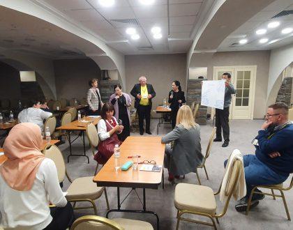 Workshop by Dr. Yelena Muzykina held in Kyiv