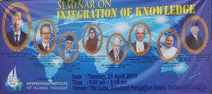 Integration of Knowledge Seminar at University of Malaya with Dato Seri Anwar Ibrahim