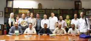 وفد علماء مغاربة يزور المعهد