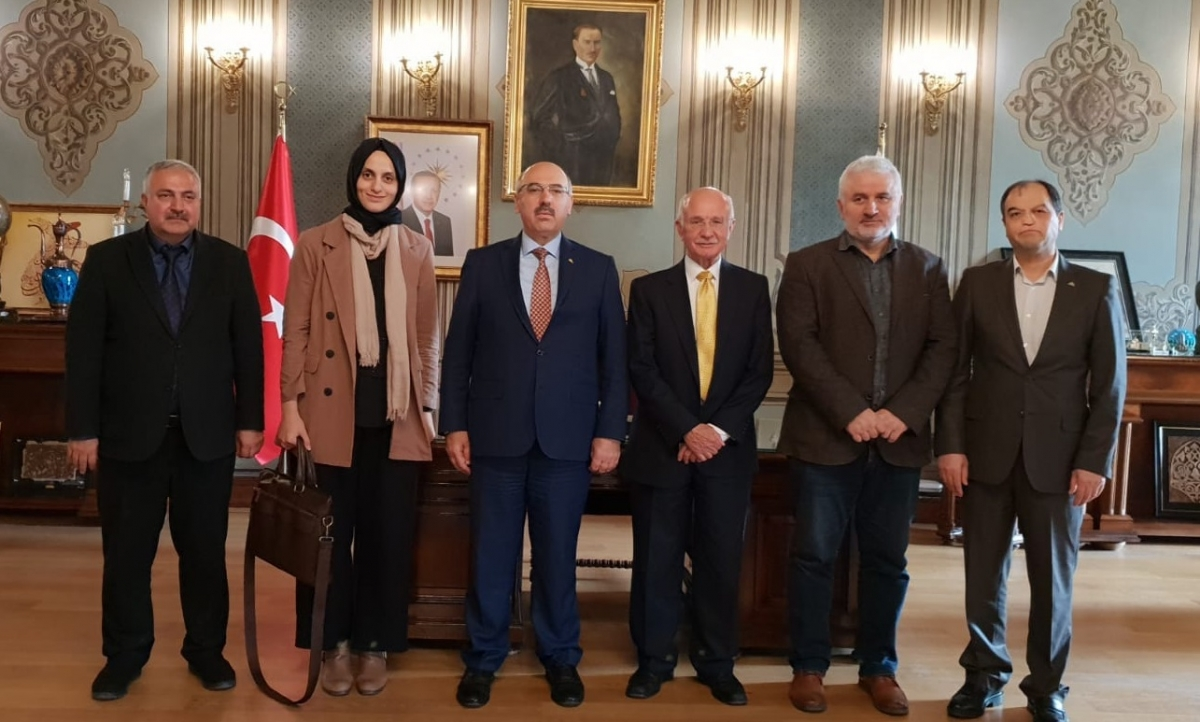 Meeting with Istanbul University Rector and Vice Rector