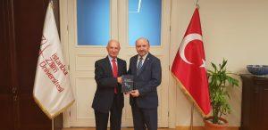 Meeting with Prof. Mehmet Bulut, the Rector of Istanbul Sabahattin Zaim University